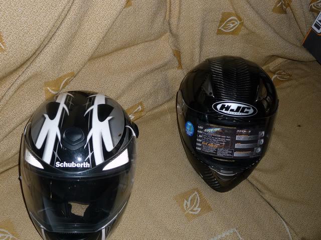 HJC HQ-1 Carbon Helmet P1060427