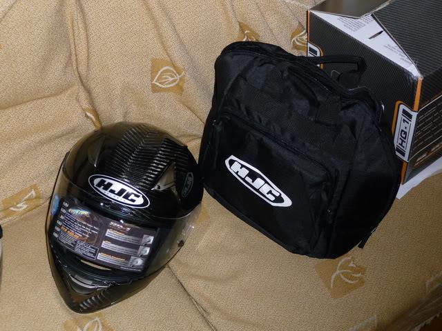 HJC HQ-1 Carbon Helmet P1060428