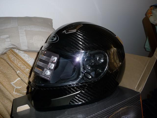 HJC HQ-1 Carbon Helmet P1060429