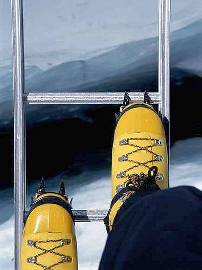 Post your favorite pics friends (any pics ). Crossing-crevasse