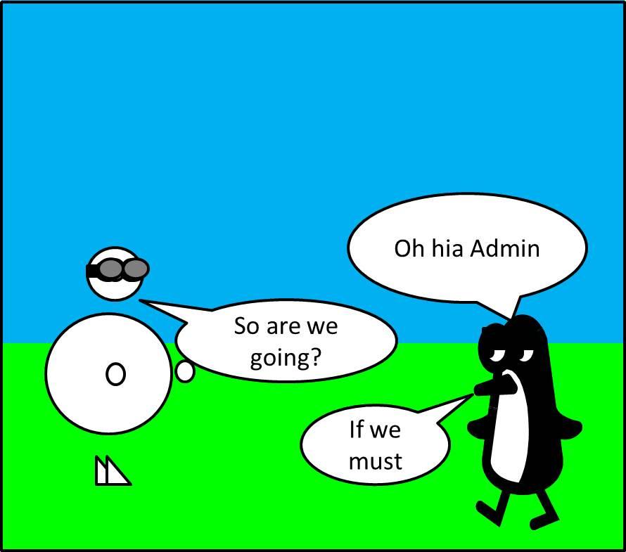 Penguin vs Admin 1 029comic1