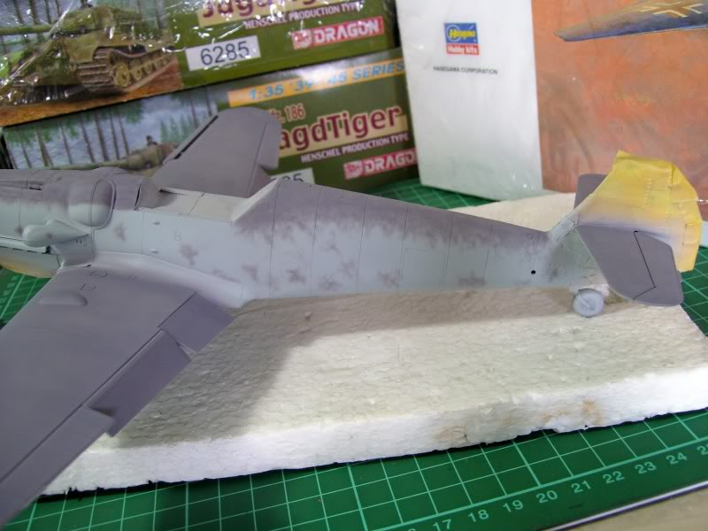 Messerschmitt Bf 109 G-6 Hasegawa 1/32 Alfred Grislawski - Página 2 AplicacaciondecamuRLM755