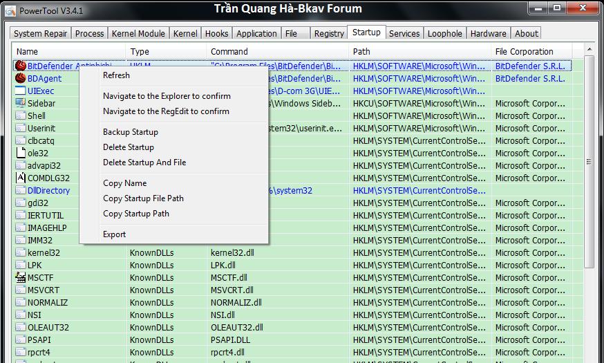 Kẻ hạ bệ XueTr: Anti-virus & rootkit & bootkit PowerTool. 7-15