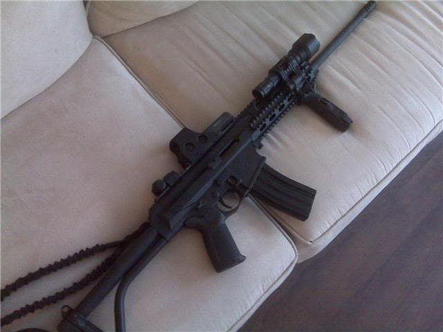 fusils d'assaut Xcr