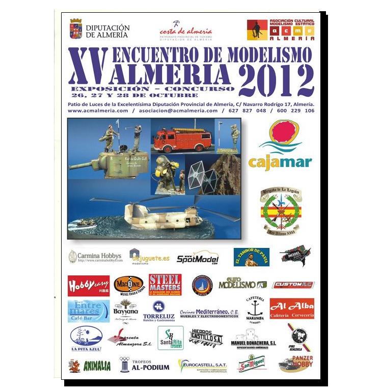 XV Encuentro de Modelismo - ACME - Almería 2012 ALMERIA-2012