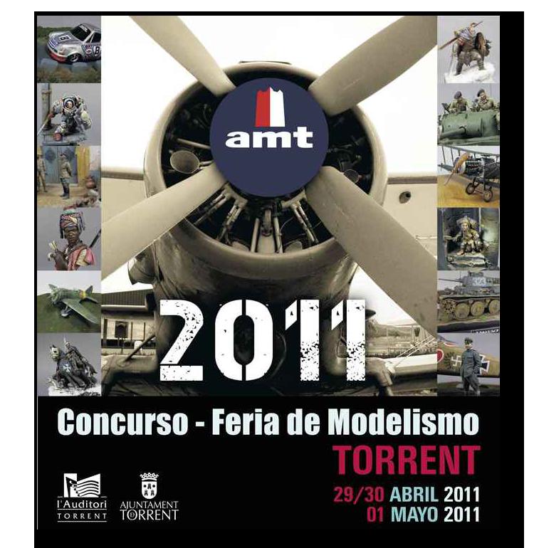 """Concurso de Modelismo de la """"AMT Torrent"""" -2011- AMT-Torrent2011"""