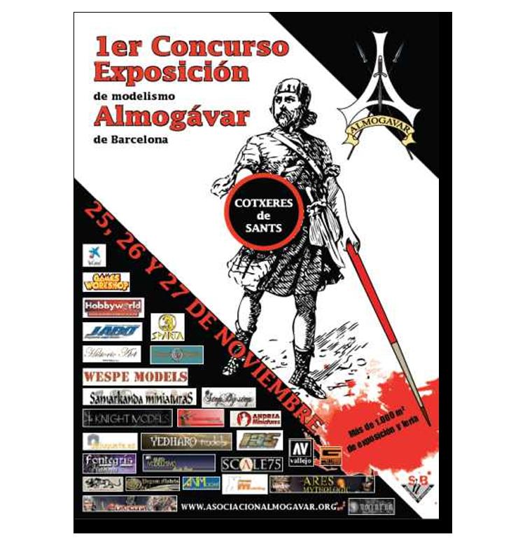 1º Concurso - Exposición de Modelismo Almogavar - Barcelona 2011 Almogavar2011