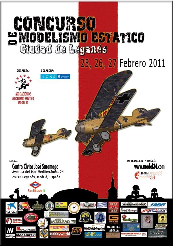 """1º Concurso de Modelismo de la Asociación de Modelismo Estático """"Model34"""" -2011- Model34-2011"""