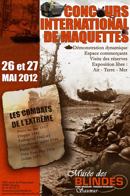 Musée des Blindés SAUMUR - 2012 Concours_international_de_maquettes_2012