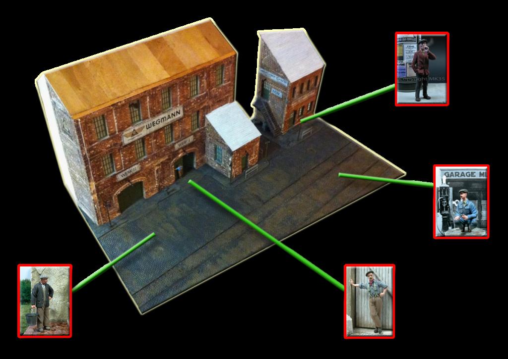 Base Salonwagen  - Página 3 Diorama-figuras