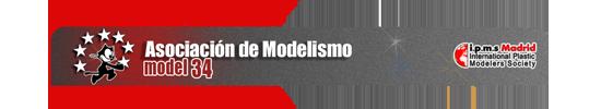 Asociaciones de Modelismo Españolas AM-M34
