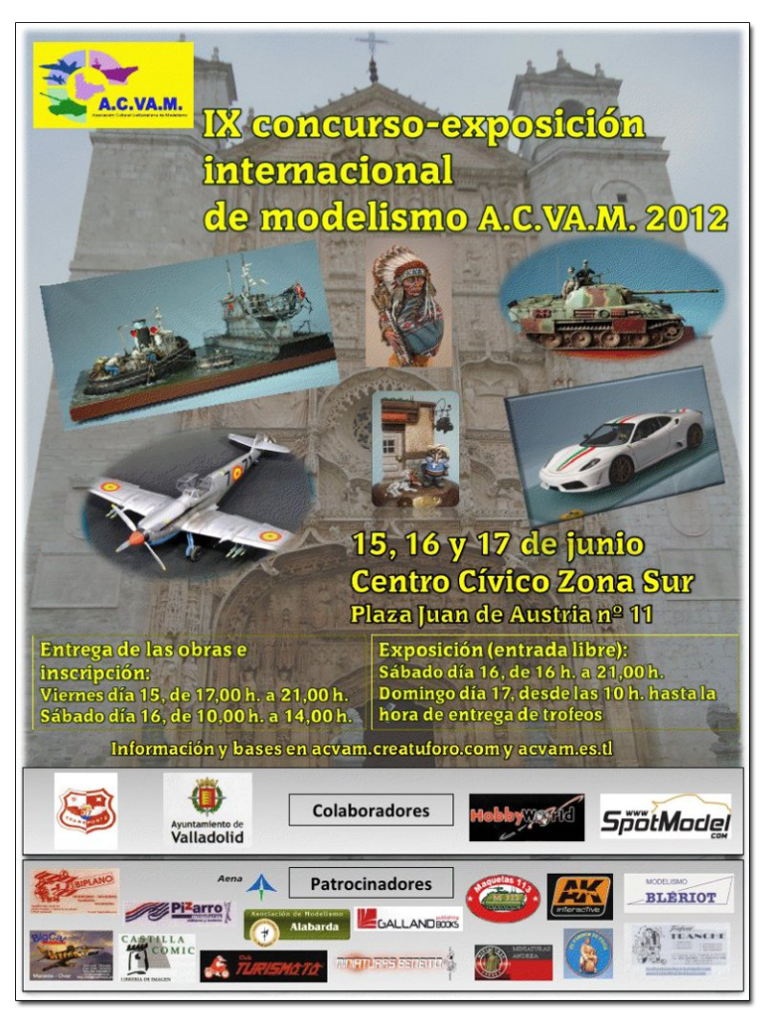 IX Concurso Internacional de Modelismo ACVAM 2012 - Valladolid Acvam