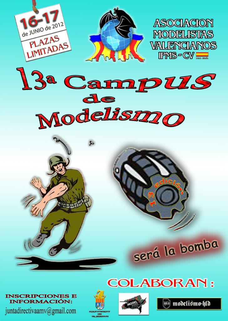 13ª Campus de Modelismo IPMS-AMV Asociación de Modelistas Valencianos 13ACAMPUS-def-reduc-1