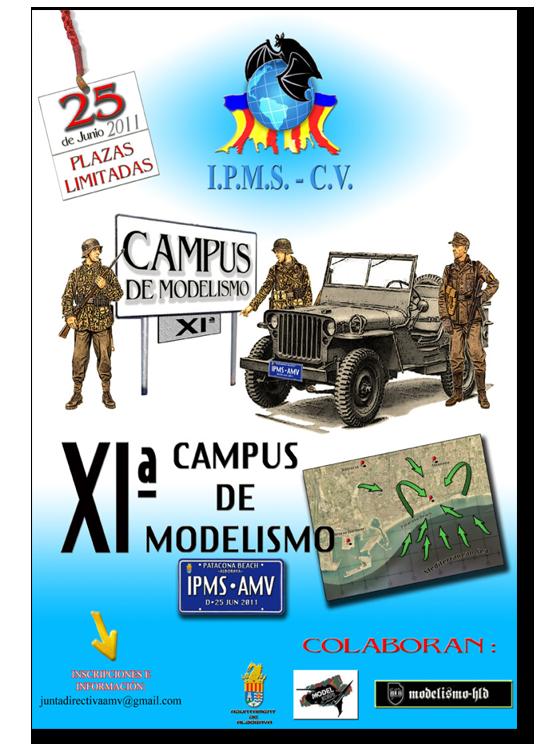 11ª Campus de Modelismo IPMS-AMV Asociación de Modelistas Valencianos Campus-11-foro