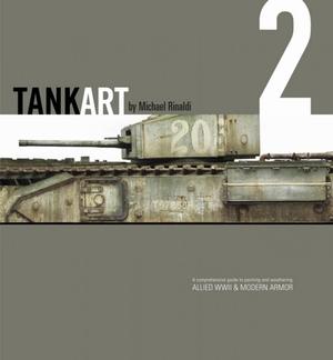 TANK ART Volume 1 - WWII German Armor (Michael Rinaldi) TA02_Cover1sml_600-1