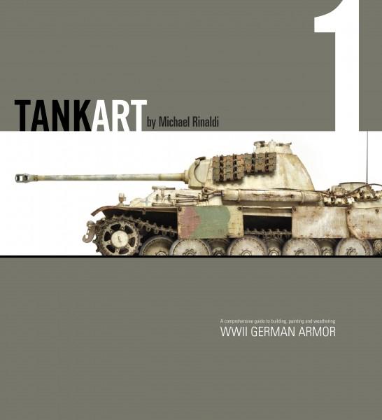 TANK ART Volume 1 - WWII German Armor (Michael Rinaldi) TA1_Cover_600