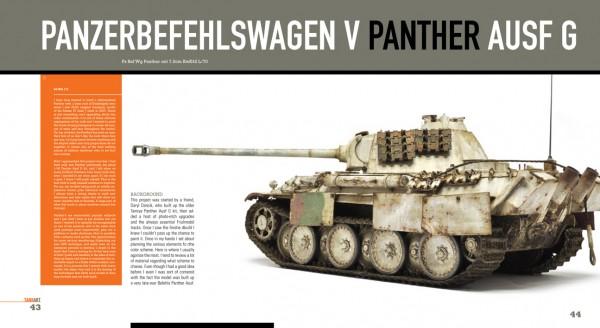 TANK ART Volume 1 - WWII German Armor (Michael Rinaldi) TAteaser03_600