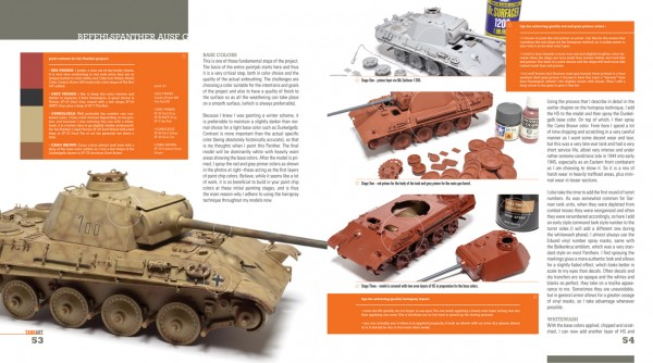 TANK ART Volume 1 - WWII German Armor (Michael Rinaldi) TAteaser04_600