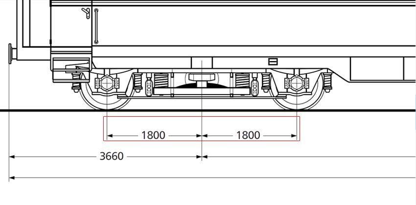 Salonwagen Sal 4ü-37a der DR Realbogie