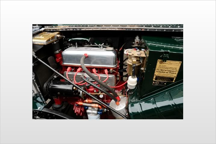 MG TC conversion a racing car Engine-1