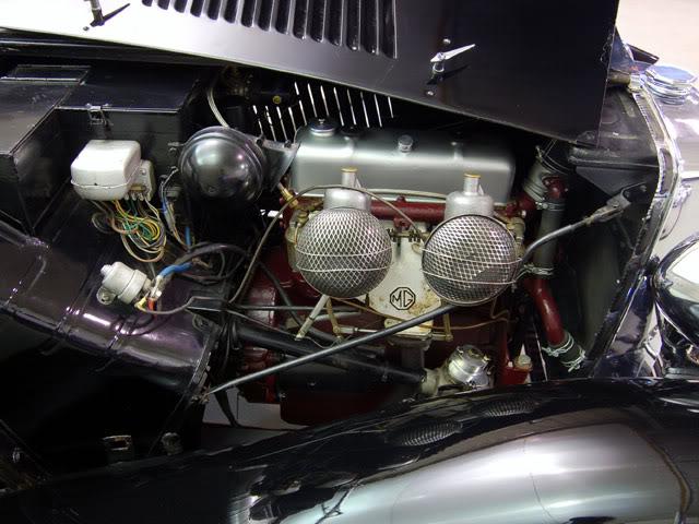 MG TC conversion a racing car Engine-4