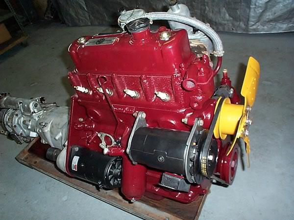 MG TC conversion a racing car Engine-6