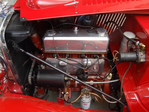 MG TC conversion a racing car Engine-7
