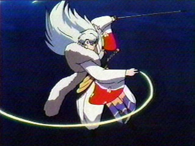 It begin!!!! Action-sesshomaru