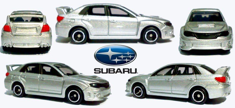 Los TOMICA de Shelby SubaruImprezaWRXSTI4door-1