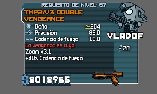 Armas legendaria y perladas. 12_V3DoubleVengeance