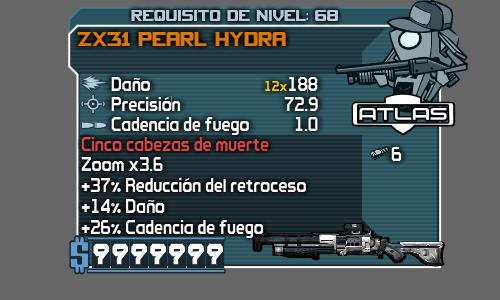Armas legendaria y perladas. 01_ZX31PearlHydra