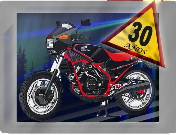 30º Aniversario del VT 250 Terminado