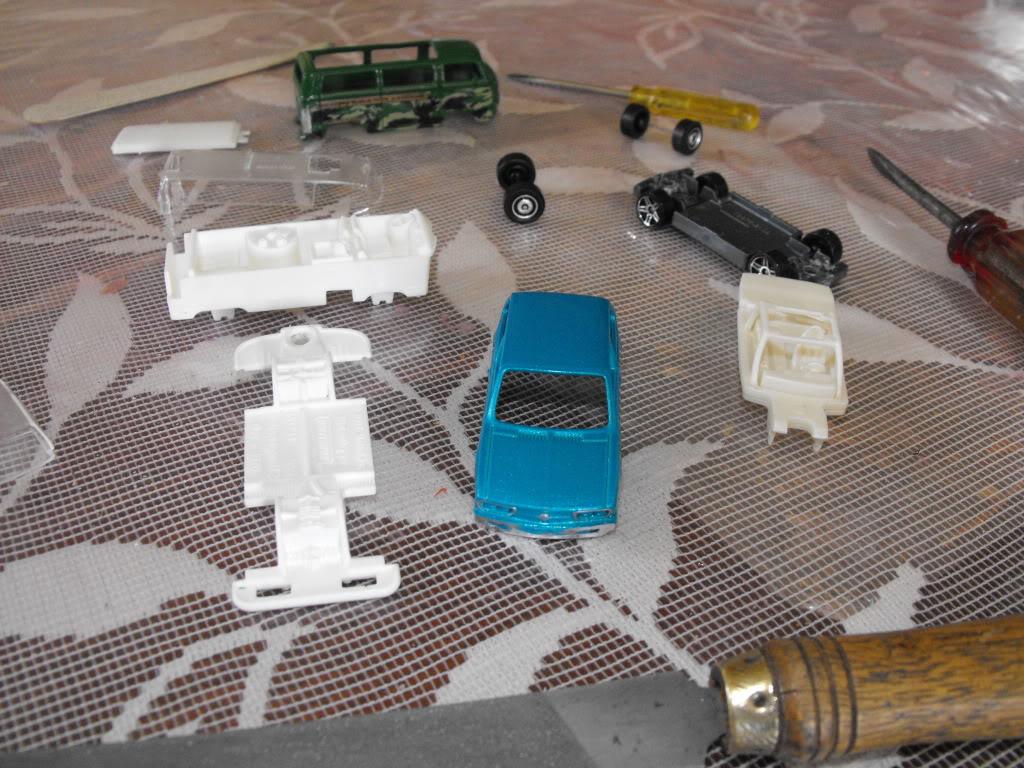 VW COMBI CARAVELLE VS VW BRASILIA PROYECTO DSCF4733