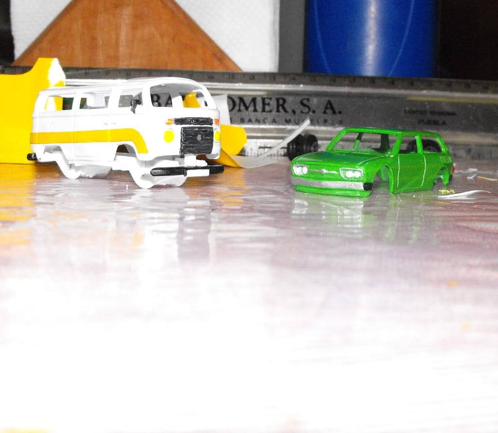 VW COMBI CARAVELLE VS VW BRASILIA PROYECTO DSCF4773