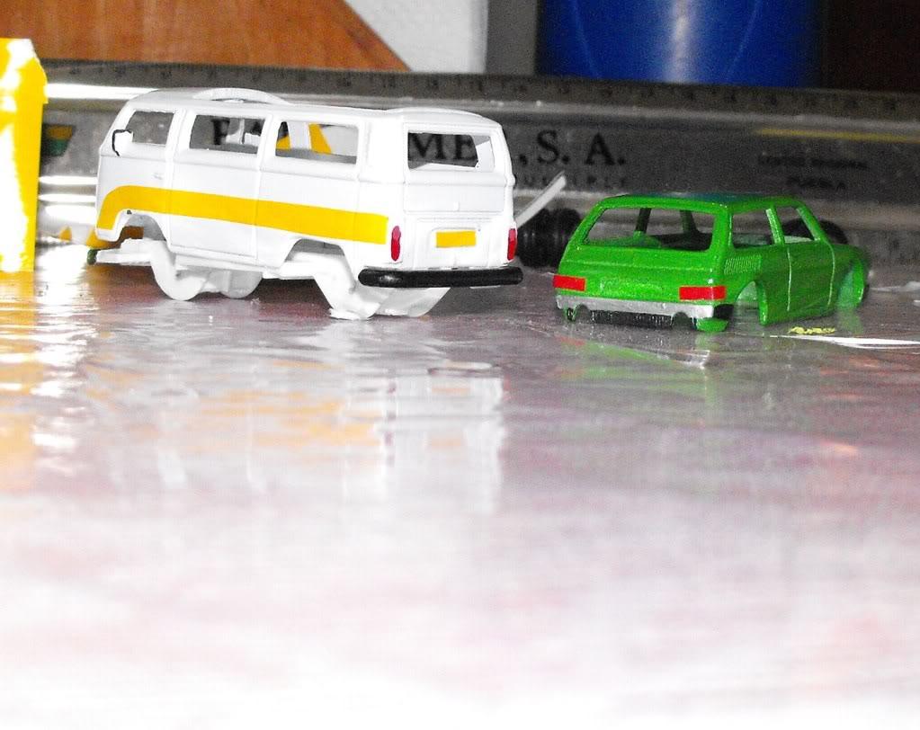VW COMBI CARAVELLE VS VW BRASILIA PROYECTO DSCF4774