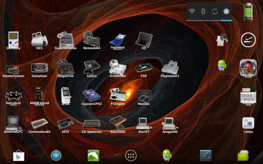 Pack d'icônes émulateurs Screenshot