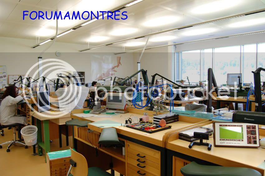 Avant première FAM  : Visite de la nouvelle manufacture Audemars Piguet Ateliervuedensemble