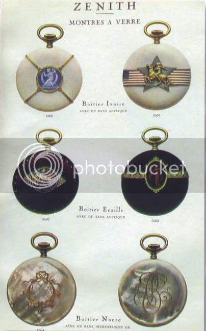 Rares : Les montres de poche en écaille de tortue, ivoire ou nacre BoitesZENITHivoire
