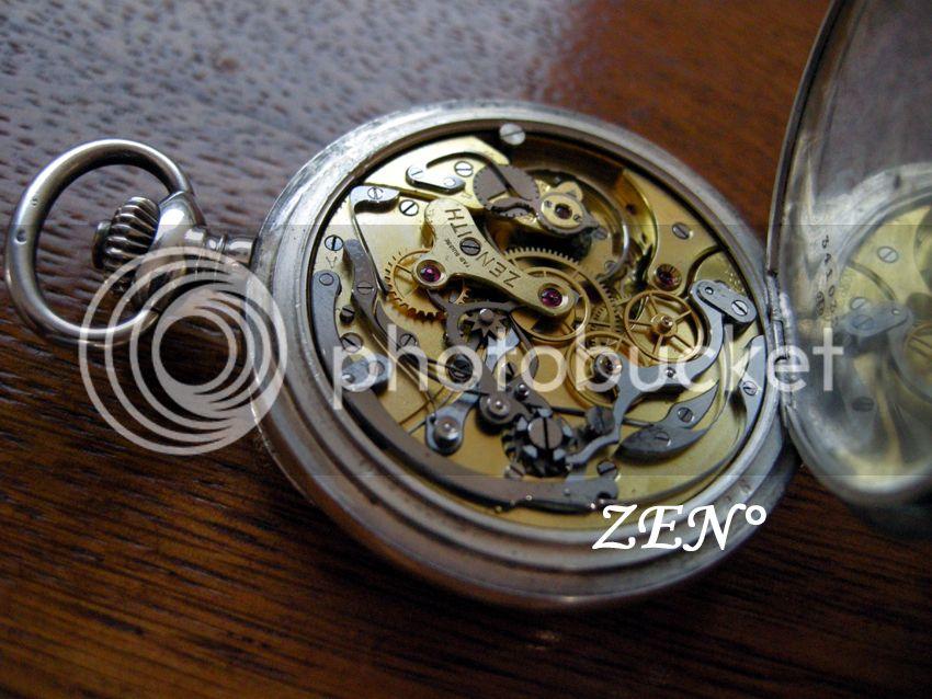Le premier chronographe mis au point par ZENITH Chronoargentcalibre