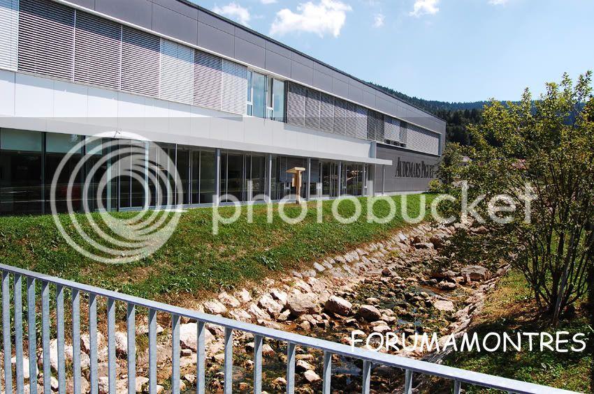Avant première FAM  : Visite de la nouvelle manufacture Audemars Piguet Entrecopie