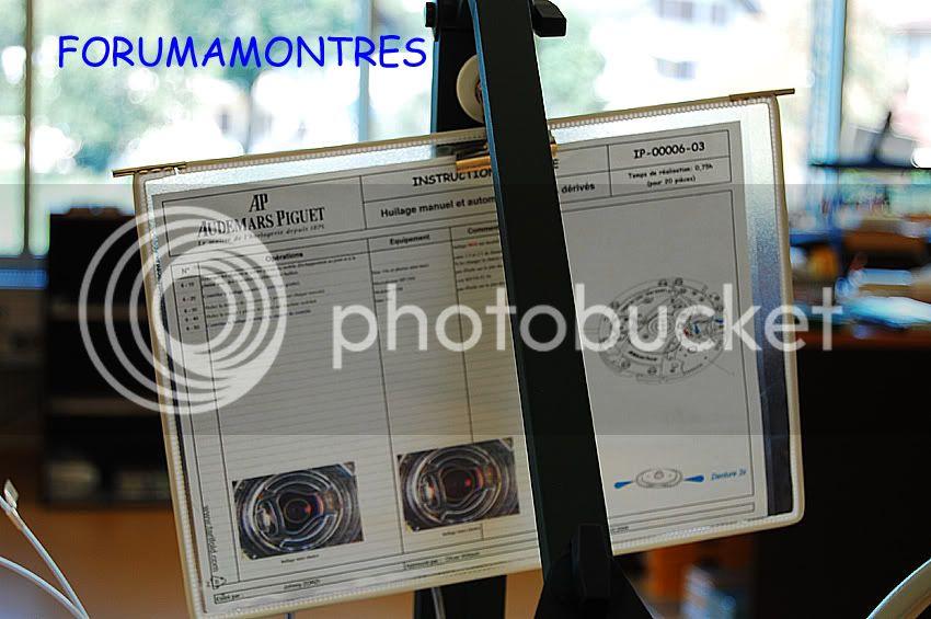 Avant première FAM  : Visite de la nouvelle manufacture Audemars Piguet Fichetechniqueposte60