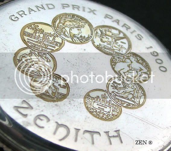 L'exposition universelle de 1900 et l'horlogerie GoussetArgent2005mdailles