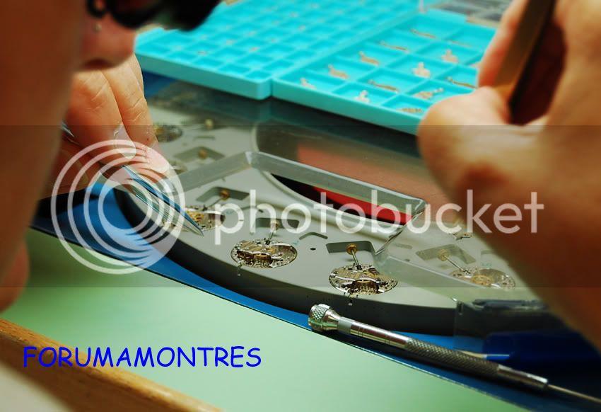 Avant première FAM  : Visite de la nouvelle manufacture Audemars Piguet Horlogreetplateautournantcopie