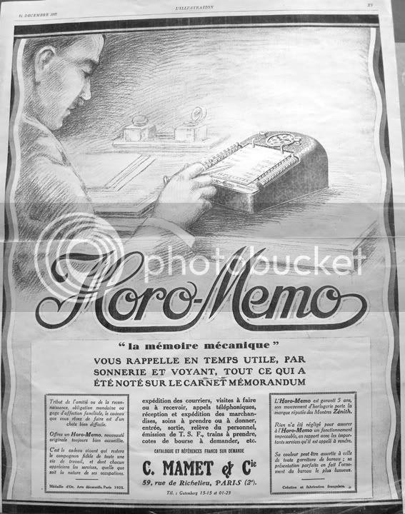 Coins et recoins de la manufacture-Découverte! L'ancètre du palm par Zenith... Horo-memopubred