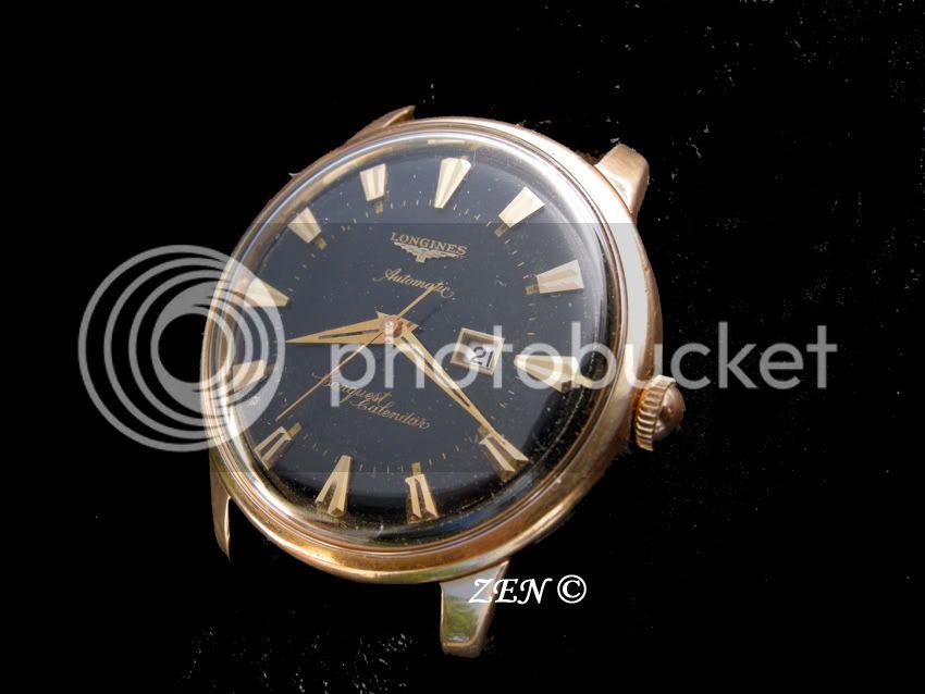 La montre du vendredi 13 mars 2009 LonginesConquestautomaticor-1