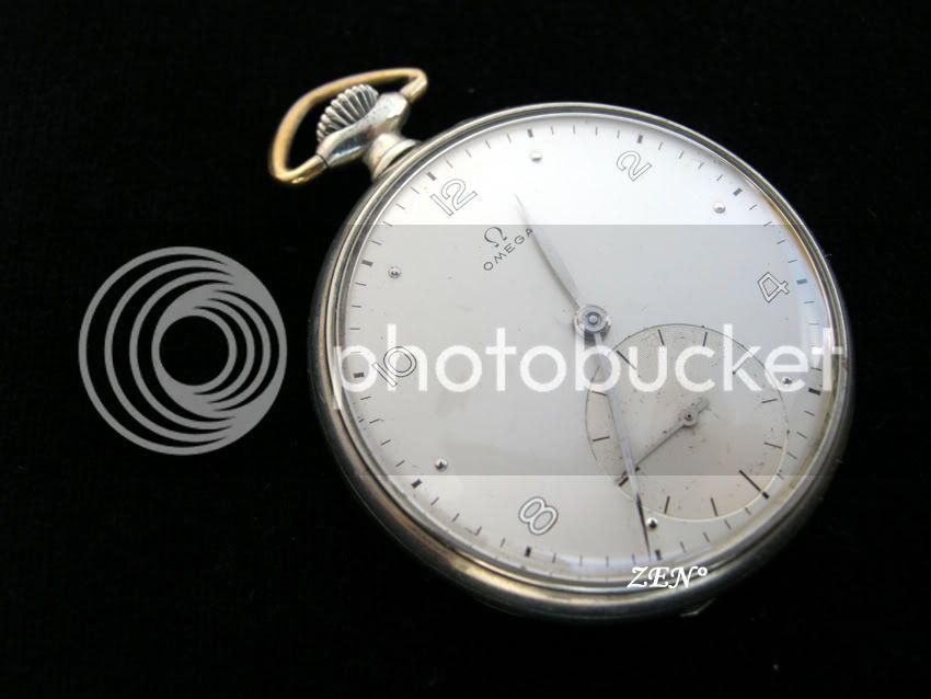 Votre montre de poche du moment ! Omegaaiguillesfeuillescadran