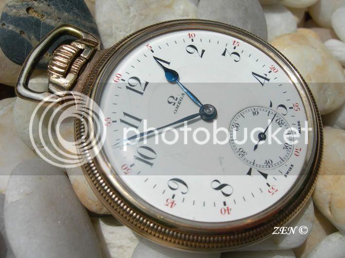 OMEGA (rare) qualité D Chronomètre Omegraalcadran1