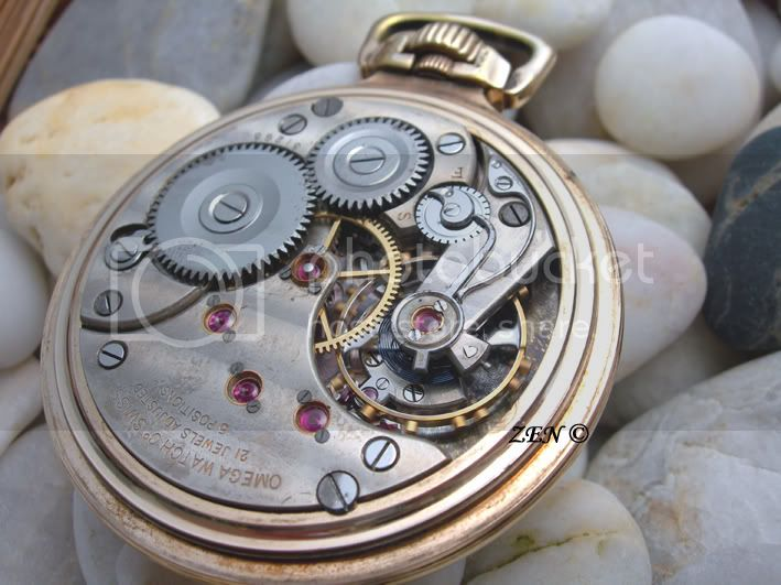 OMEGA (rare) qualité D Chronomètre Omegraalcalibre19L2