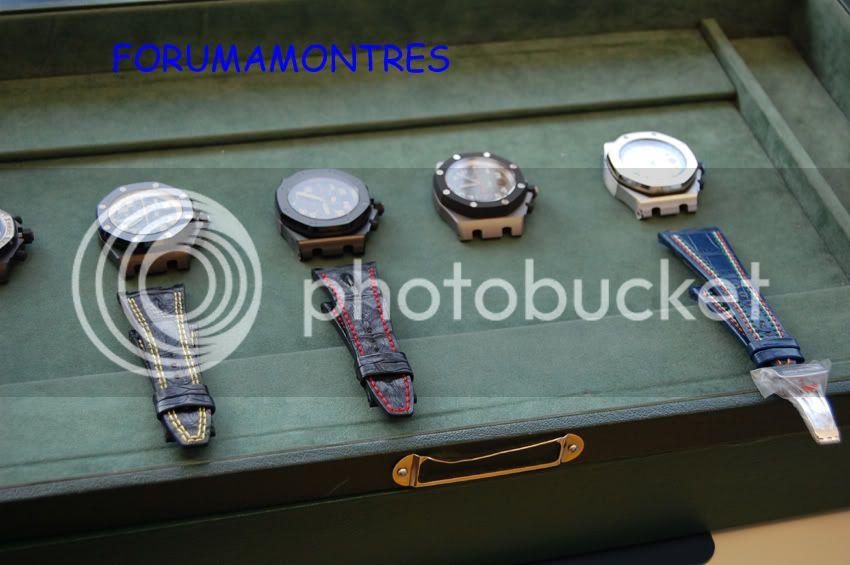 Avant première FAM  : Visite de la nouvelle manufacture Audemars Piguet PerspectivemodlesBracelets