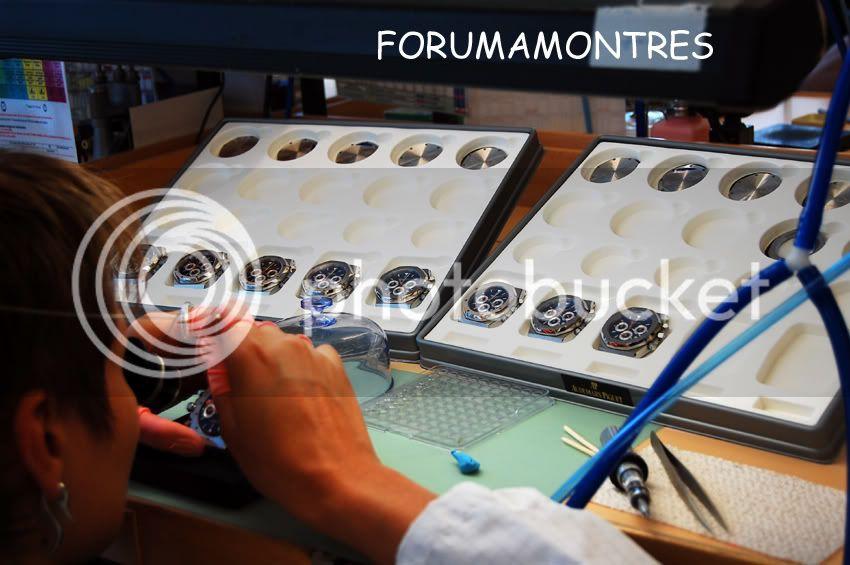 Avant première FAM  : Visite de la nouvelle manufacture Audemars Piguet Posedelunettes-2